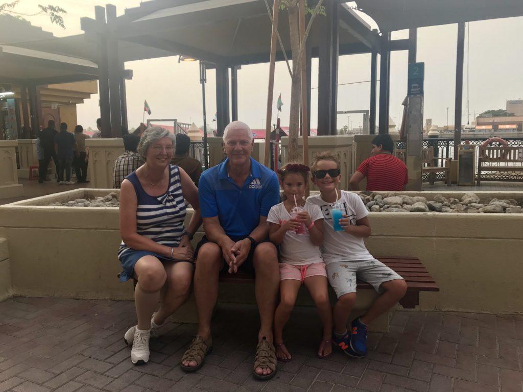 Familie tijd in Dubai