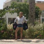 Huisvrouw in Dubai