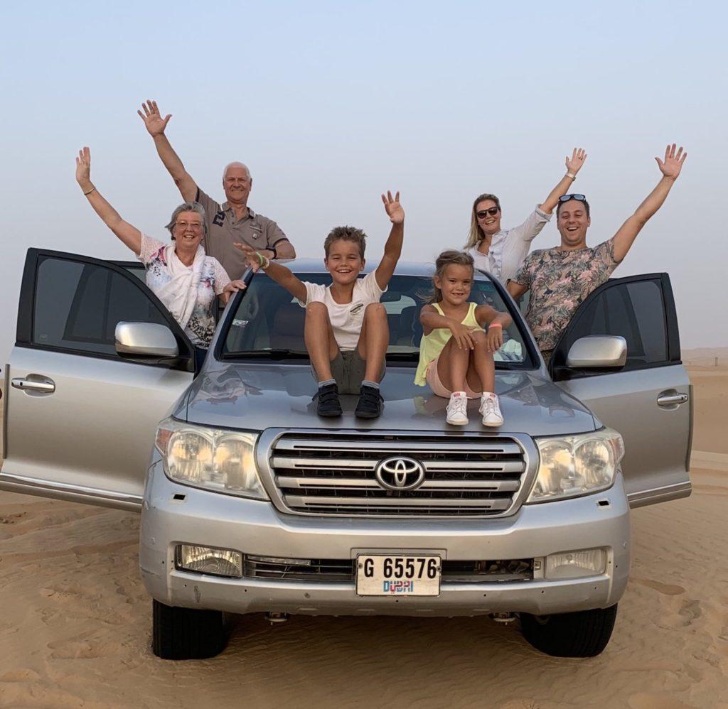 Desert tour samen met mijn ouders in de zomer