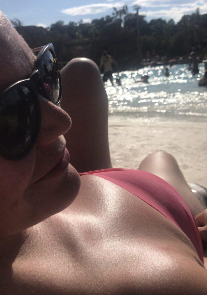 Imke zomer genieten zwembad