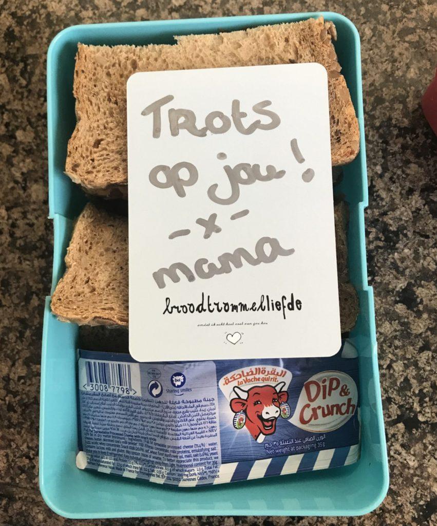 Broodtrommelliefde Kyan Mama lunchbox