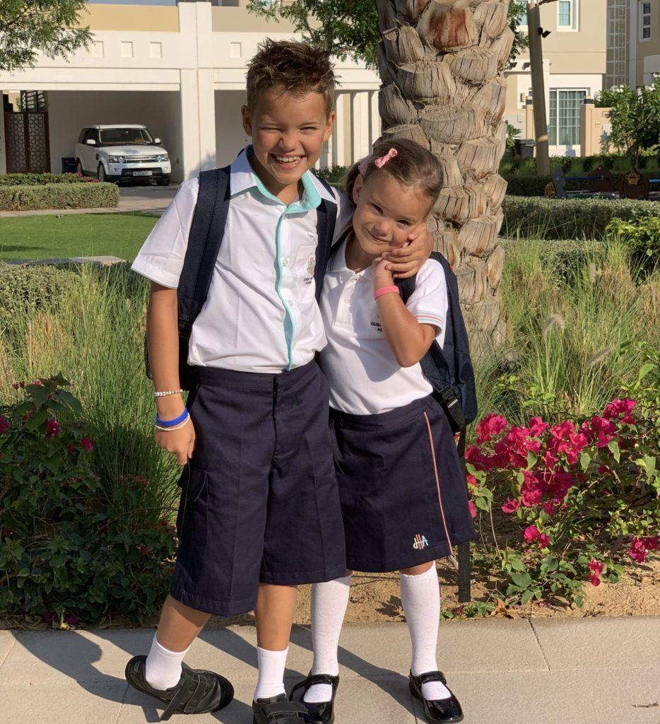 Dag 2 Kyan Nomi uniform Dubai Heights Academy
