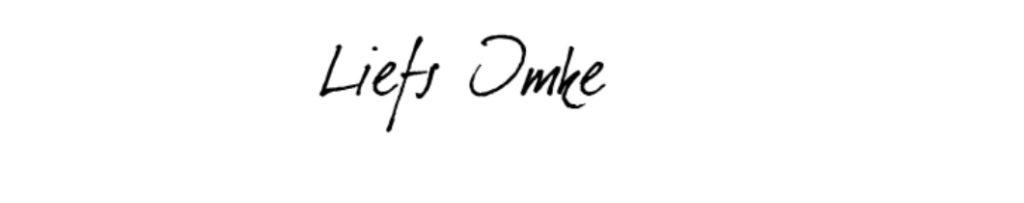 Handtekening Imke