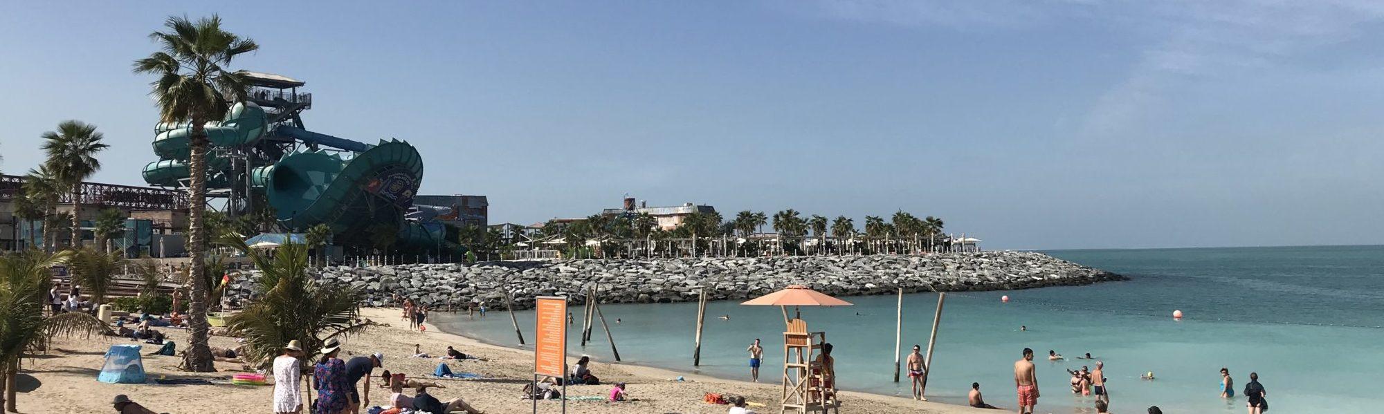 strand La Mer Dubai