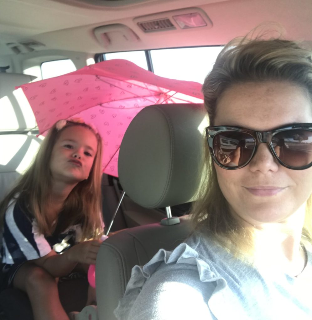 Paraplu in de auto Nomi Imke