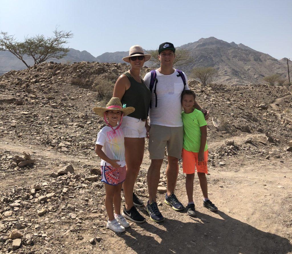 Familietijd samen hiken in Hatta