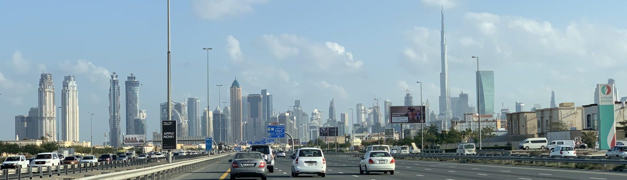 Header plog 10 Onze eerste Dubai week