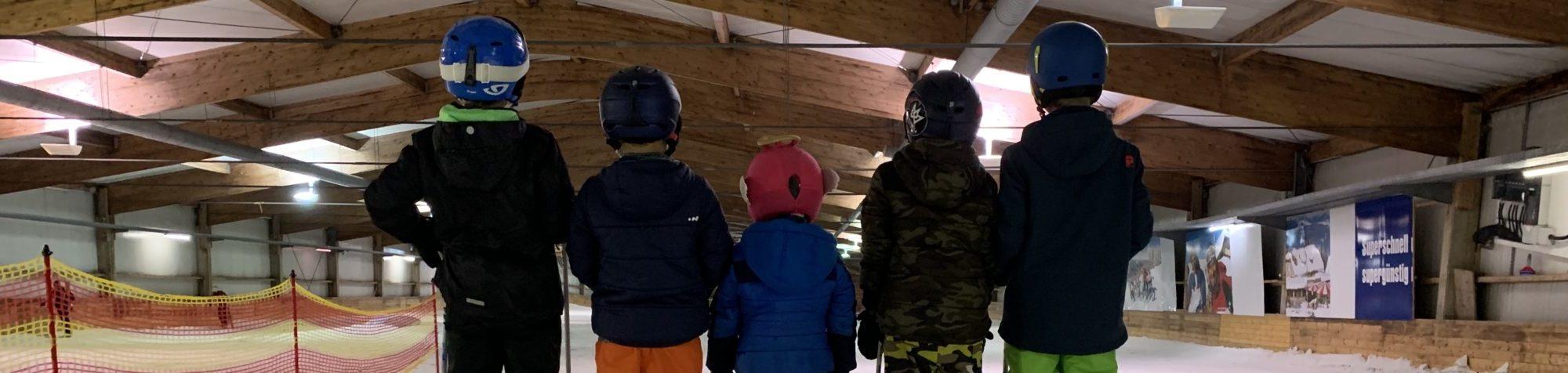 Kinderfeest Kyan Indoor skien Bottrop skihal