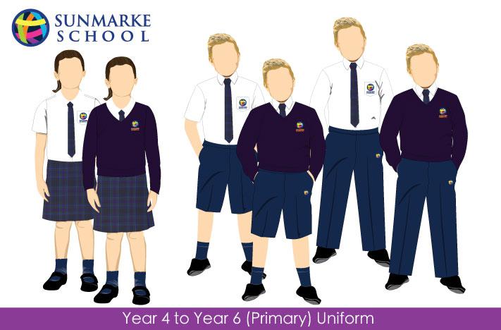 Uniform year 4 to year 6