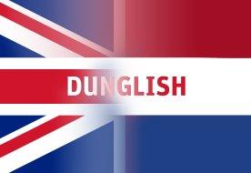 Dunglish britse nederlandse vlag